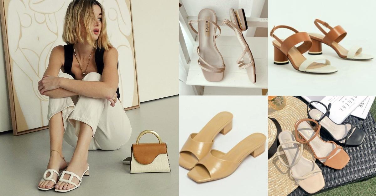 2020涼鞋盤點,小CK、Zara、H&M、D+AF...2000元不到質感不輸大牌!