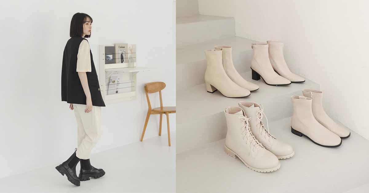 2021秋冬D+AF靴子早鳥預購中!鋸齒靴、麂皮靴、方頭靴、過膝靴....最低現折600元!