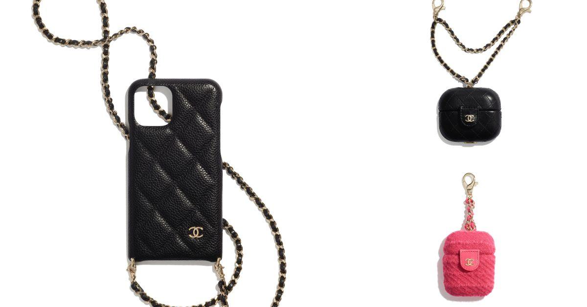 Chanel手機配件系列太嗆!iPhone殼、耳機套到手機包,比你的手機更有收藏價值