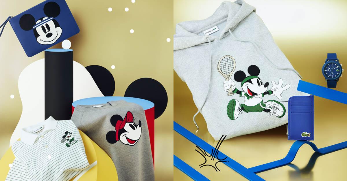米老鼠90週年聯名收不完!「迪士尼 × Lacoste」聯名商品萌到翻!每件都想要〜