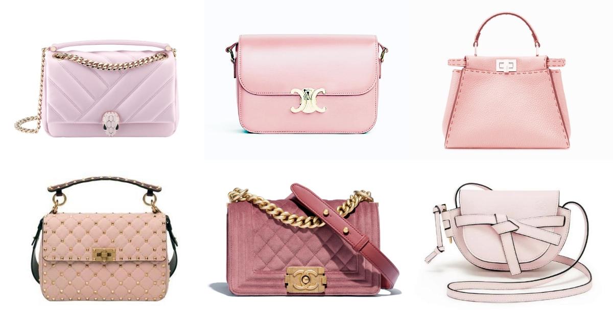 春夏石英粉風暴來襲!7款絕美粉嫩包Bvlgari、Chanel、FENDI...滿滿少女心噴發!
