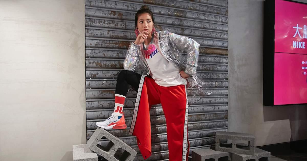 金馬影后瑞瑪席丹與三位藝術家,齊聚歡慶 Nike Air Max Day