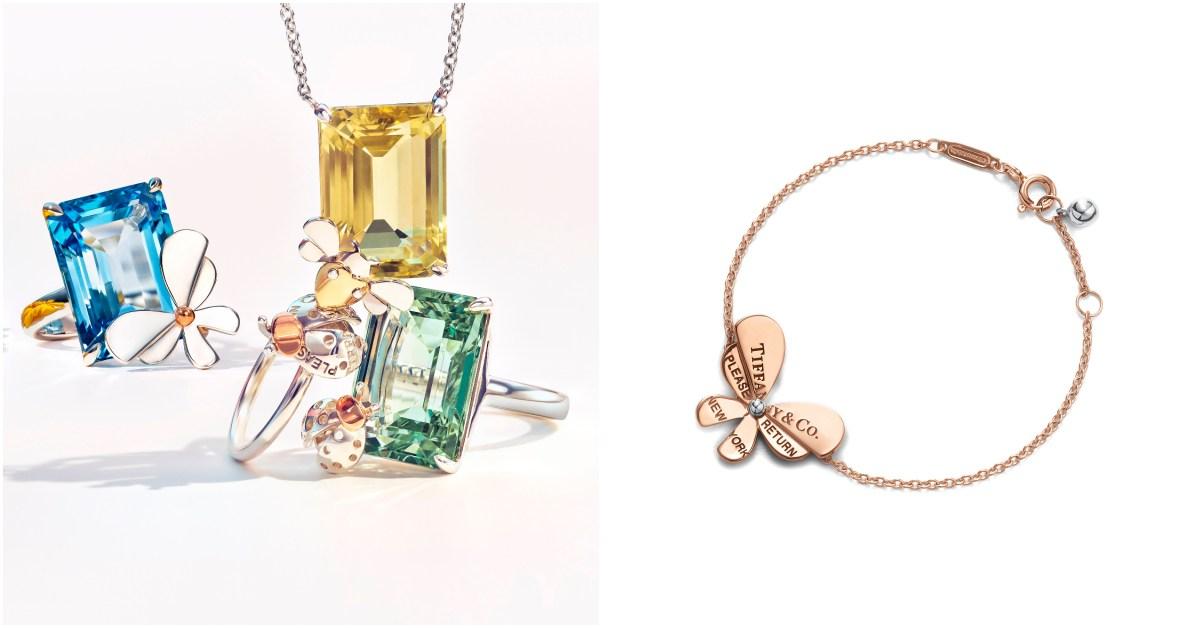 Tiffany 初心者這樣買!一萬五就能入門的超美彩色珠寶、昆蟲造型飾品