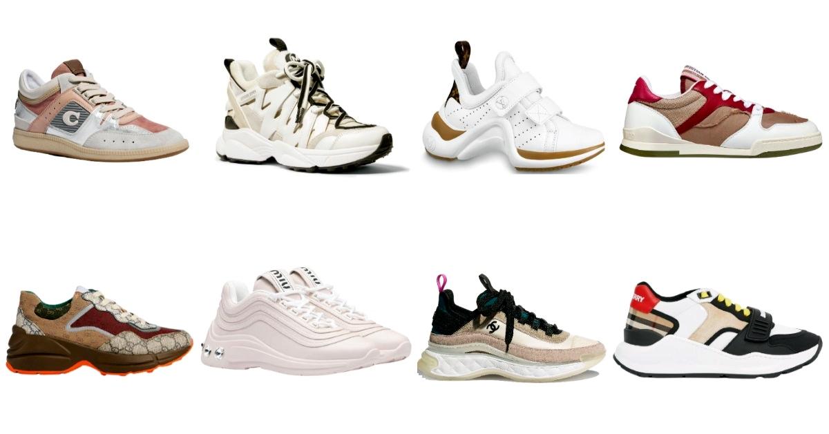2020球鞋繼續買!Chanel、Fendi、Dior⋯10雙精品級夢幻鞋一次看