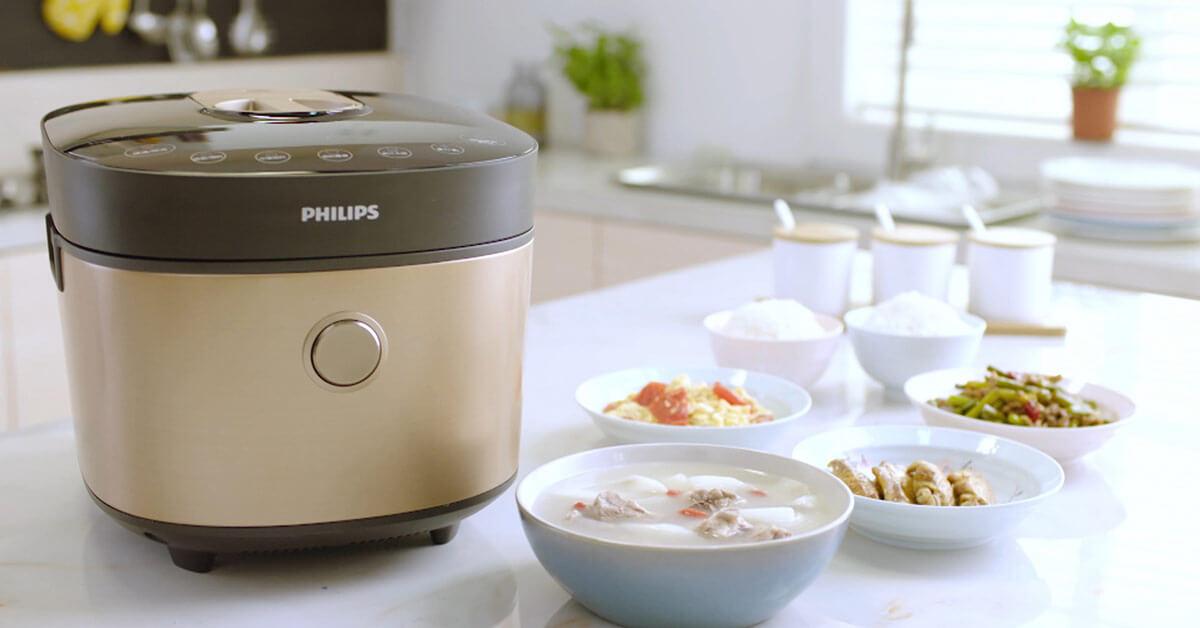 飛利浦雙重脈衝智慧萬用鍋,在外租屋也能輕鬆回味家中的美味雞湯