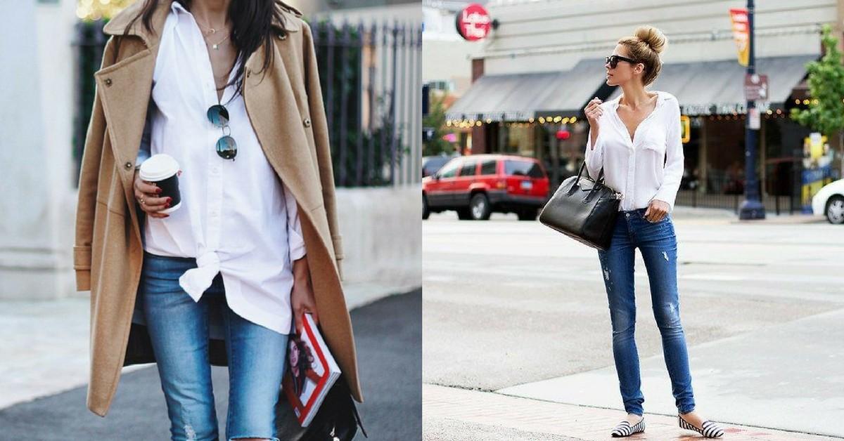 時尚記者不藏私!破解法國女人的白襯衫7天穿搭術