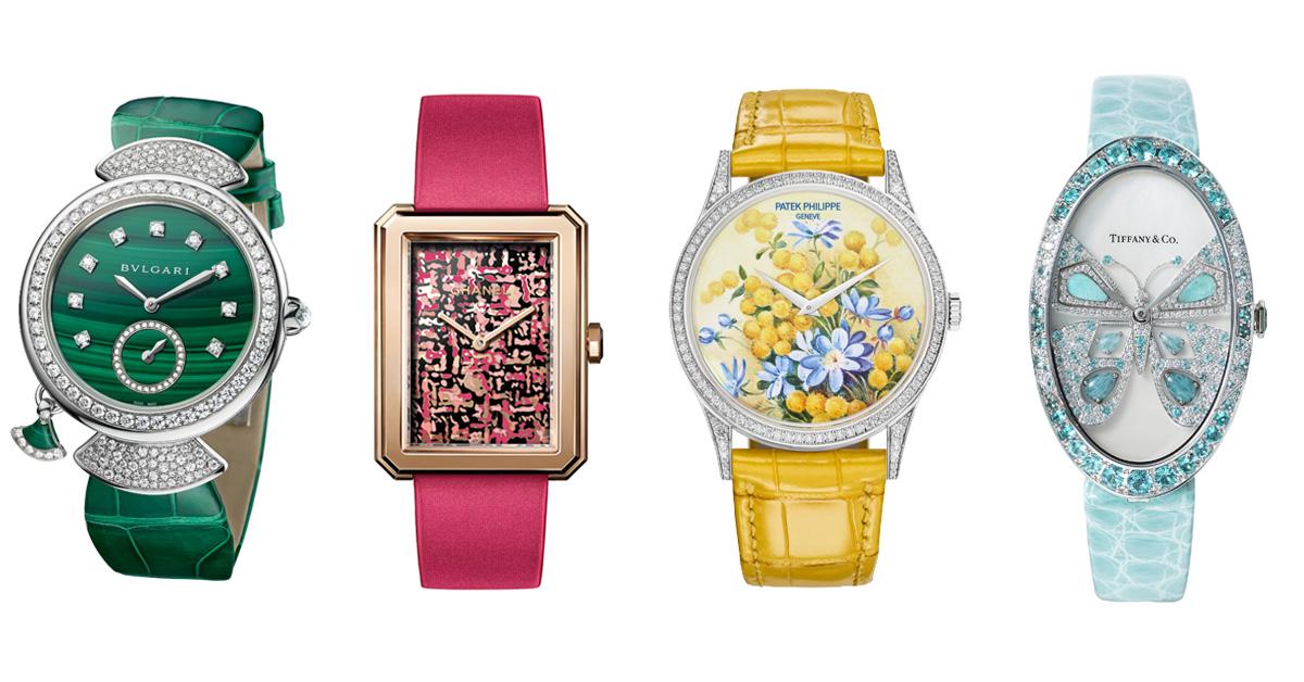 Tiffany、Cartier、寶格麗、勞力士,盤點「14款」好看也保值的彩色手錶
