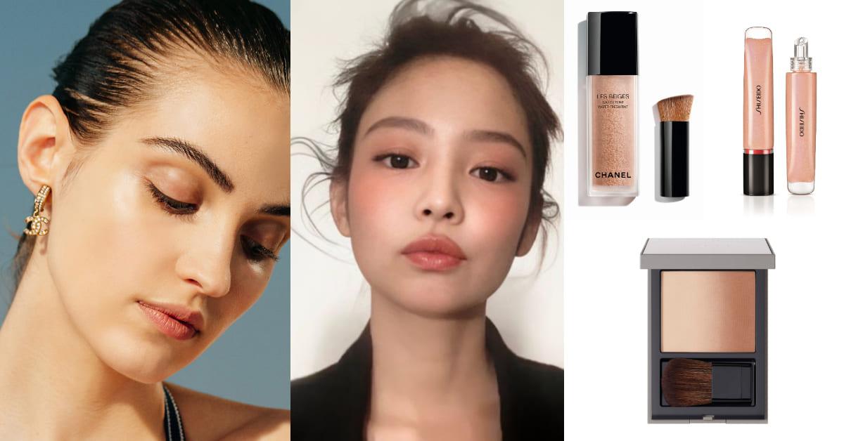 2020夏天彩妝趨勢「小麥妝」!古銅色打亮、焦糖色腮紅,凸顯輪廓更顯臉小!