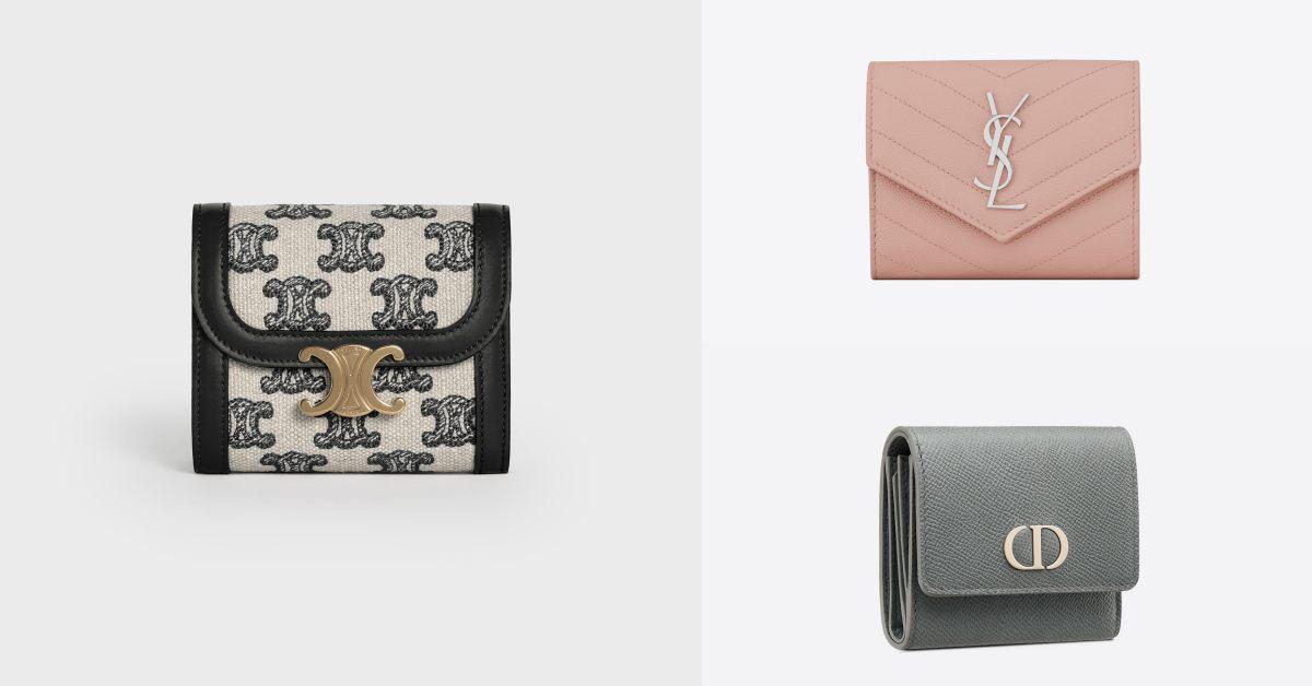 名牌皮夾推薦Top 10 !Dior、LV、Gucci....2021廣納財運必備「三折短夾」!