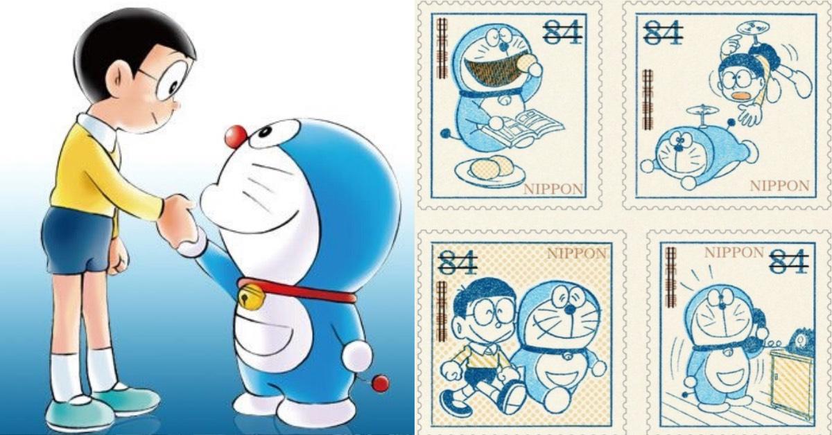1970 年代復古哆啦A夢重現!「50 周年紀念郵票」日本開賣,泛黃、懷舊漫畫回味經典