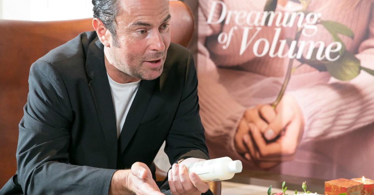 好萊塢女星們都靠他巧手變漂亮!國際級染護大師Christophe Robin:「女生25歲之後,相較全染,我倒是建議層次染髮或挑染。」