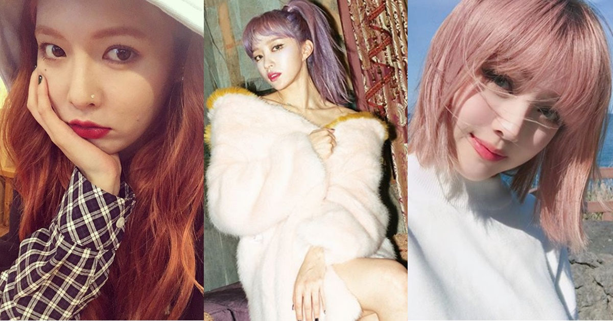 從女神泫雅、Hani和Pony看今年染髮必追夢幻髮色,和延長美麗髮色的「這些關鍵」!