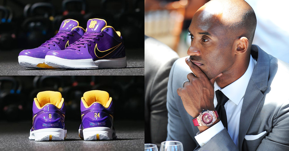 籃壇傳奇Kobe Bryant意外逝世!Nike、宇舶錶、NBA這3個品牌聯名將是你緬懷他的紀念