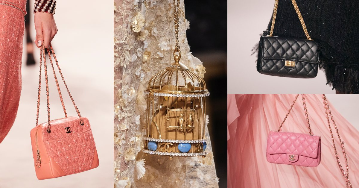 Chanel工坊系列包款畫重點:經典包照到縮小燈、珊瑚粉配色、話題鳥籠包!