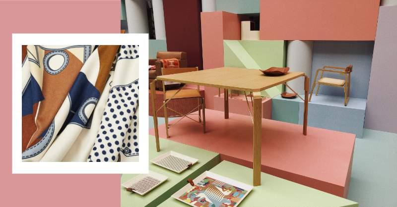 信義區最新打卡點!愛馬仕 Hermès 《空間之間》讓妳在積木的包圍下享受超夢幻的居家空間
