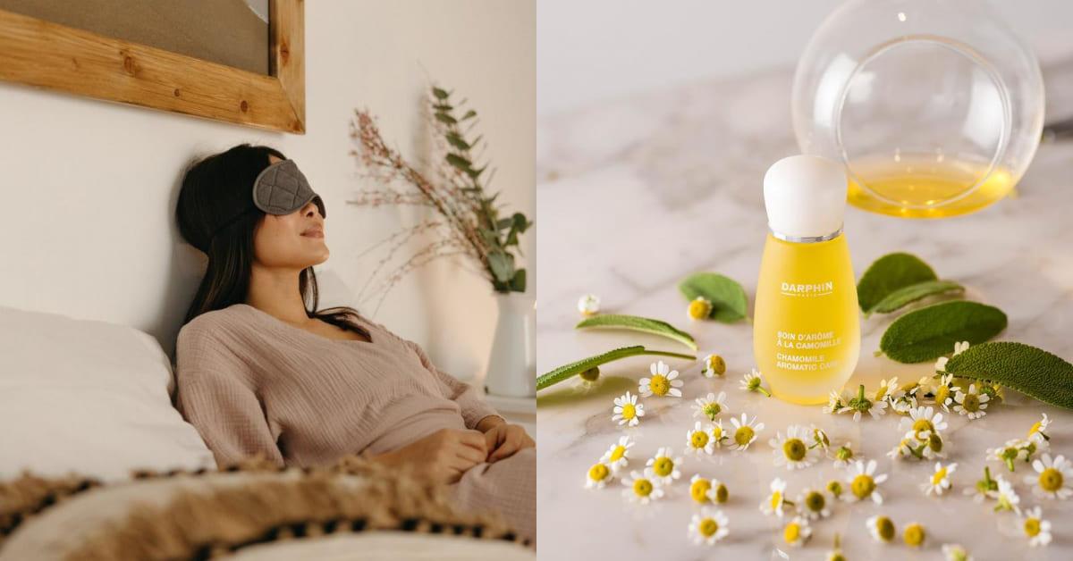 失眠擦精油有用?Darphin專家教你精油正確使用6招,睡不著、眼壓高這個香味最有效