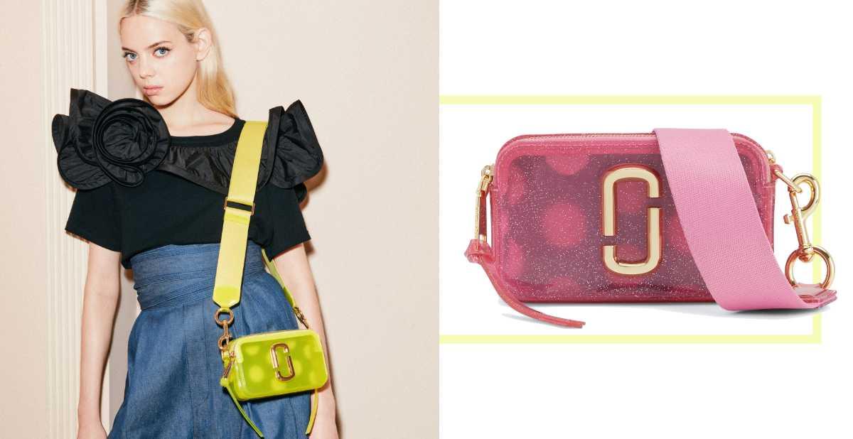 相機包推果凍色可愛爆!女孩狂買的Marc Jacobs新款配色實在太犯規