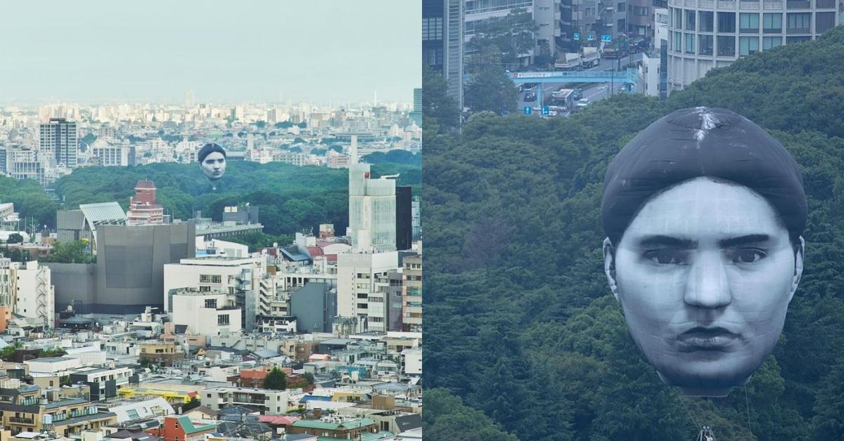 東奧倒數天空出現「巨型人頭」!伊藤潤二恐怖漫畫場景真實上演,人臉原來真有其人?