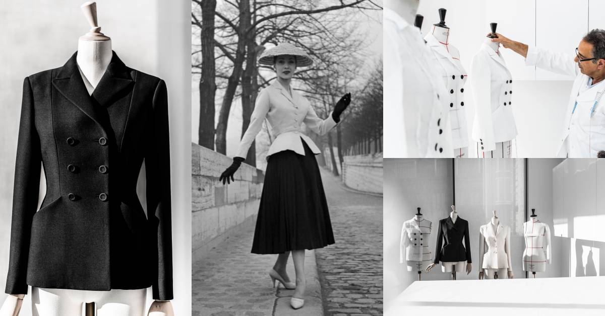 世界第一件顯瘦外套是「它」?Dior經典Bar Jacket誕生73年,用剪裁征服女人的心