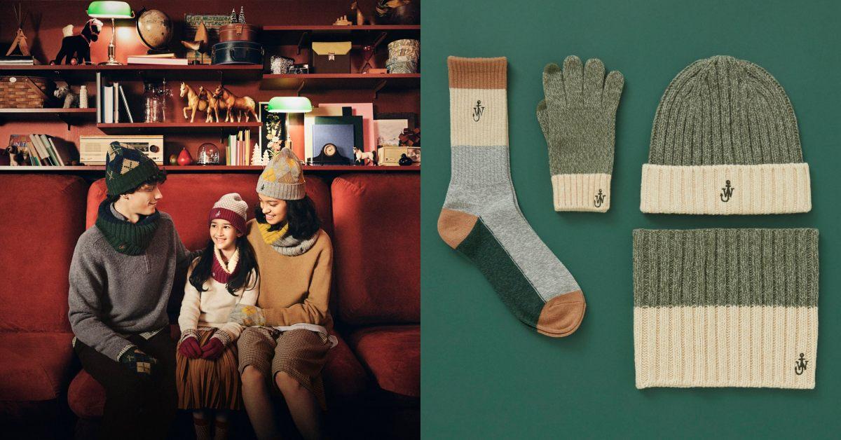 Uniqlo再推秒殺聯名!Loewe創意總監聖誕系列登場,毛帽、襪子到圍巾,根本是超完美交換禮物!