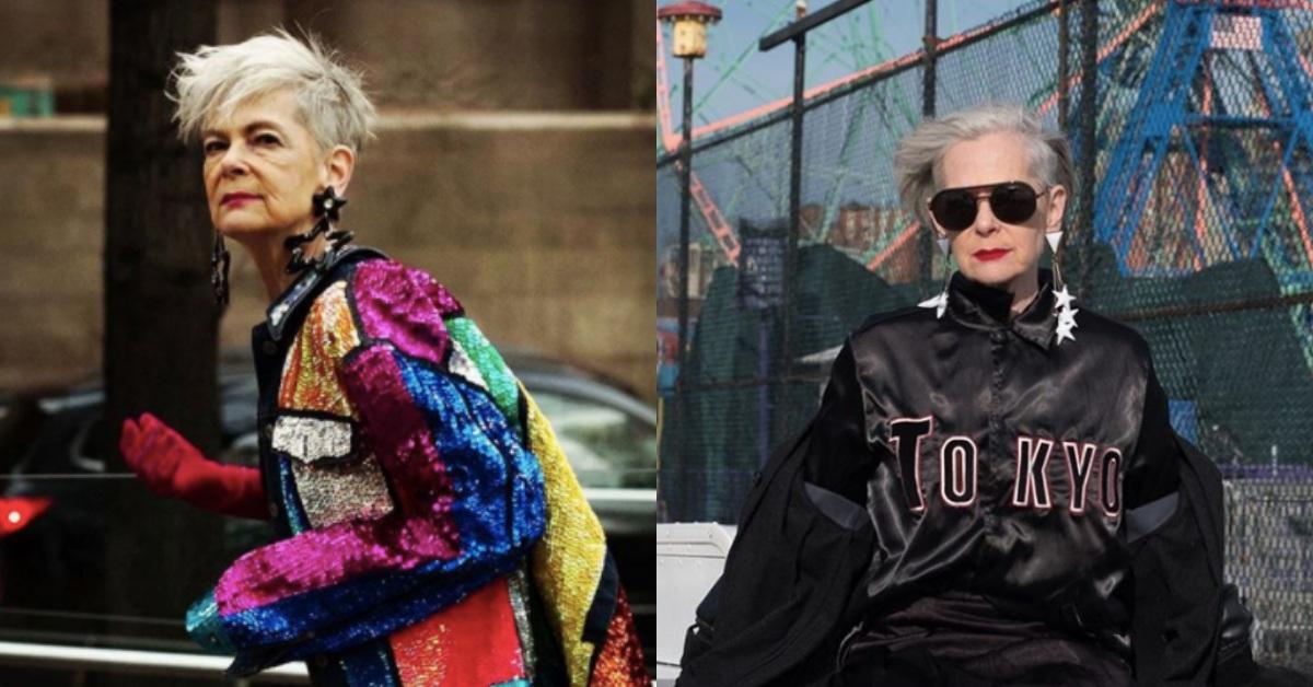 從大學教授意外變成時尚ICON!「64歲潮嬤」Lyn Slater拒絕讓年齡阻止妳的美麗