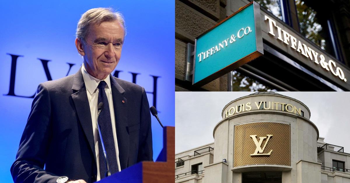 新全球首富出爐!併購Tiffany的LVMH集團總裁以身價3.5兆新台幣榮登寶座!