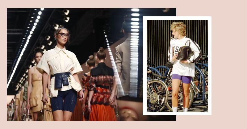 單車褲、緊身服、潛水衣才是新時尚?紐約 CK 到米蘭 Fendi,這「緊身」機能風正在發燒?