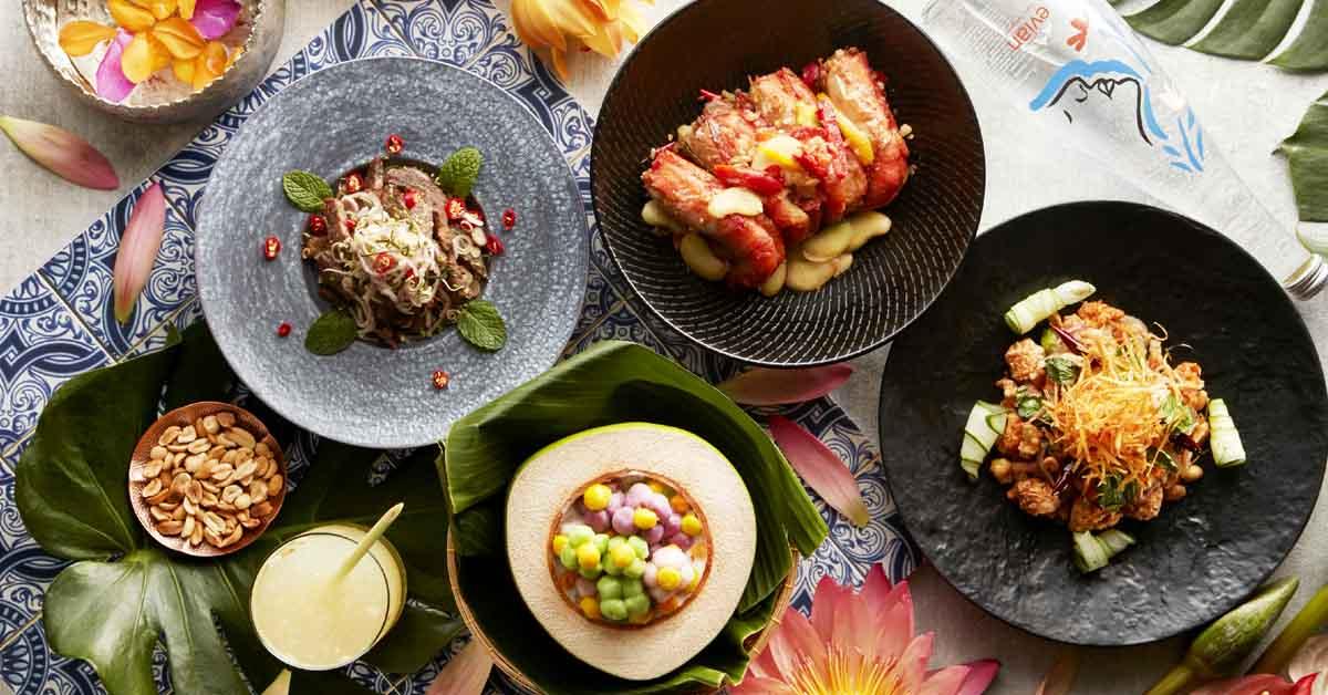 不用飛到泰國也能感受南洋風情!台北喜來登推潑水節美食