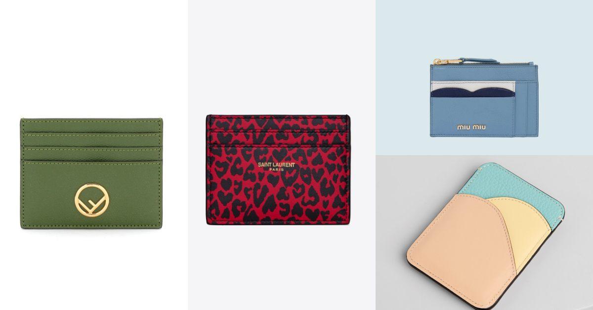 名片夾推薦Top10!Celine、LV、Dior.....BV這款綠色編織款店上搶翻啦