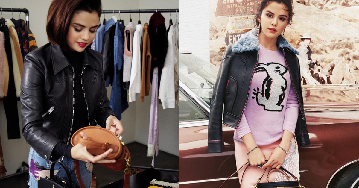 穿上Selena Gomez的時尚好品味!「Coach × Selena Gomez」首度服裝聯名大公開!