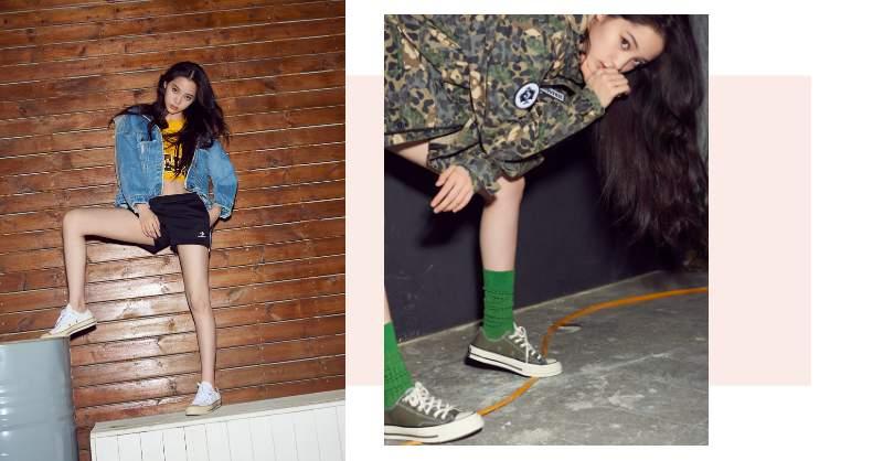 展現腳長就靠這雙?低筒、窄版、露腳踝,歐陽娜娜用復古鞋款示範長腿秘訣