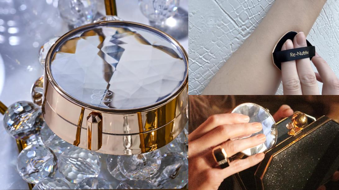 雅詩蘭黛全新「寶石氣墊粉餅」一拍亮到會反光!網稱 : 底妝界的5克拉鑽石