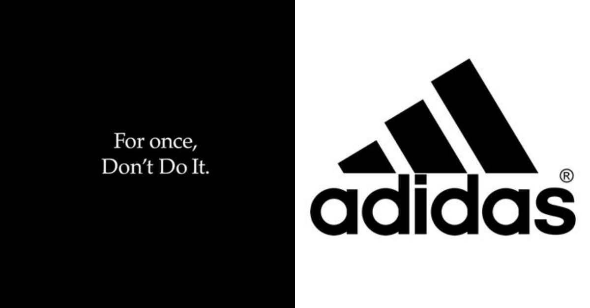 Nike、Adidas 兩大宿敵為和平破冰!運動品牌龍頭攜手高喊「Don't Do It」為反歧視發聲!