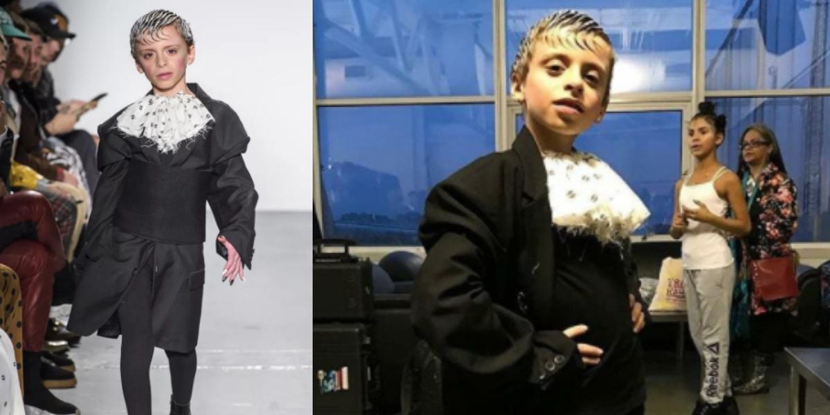【紐約時裝周】10歲變裝童走上紐約時裝周伸展台!這些跨性別模特兒們帶你看見美的各種樣貌