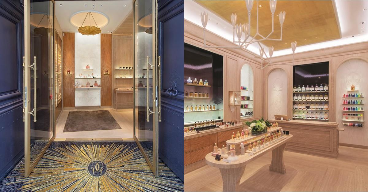 巴黎必去新景點,上百種香水一次聞!嬌蘭全新香水精品店重返芳登廣場