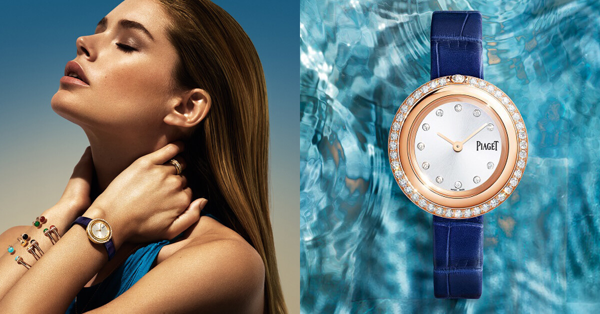 轉轉轉好療癒,每位女性都該來一只可轉動的伯爵POSSESSION錶!