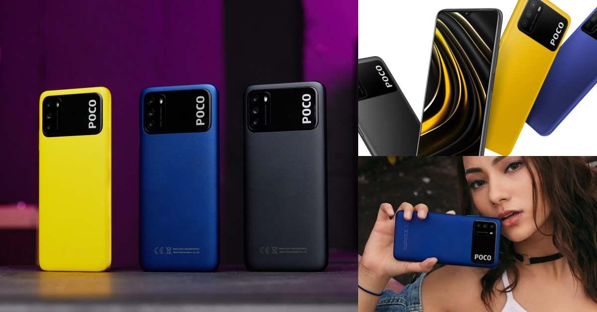 小米家族POCO M3手機登台!3,999元無痛入手,大電量、高畫質,不到1小時秒殺原因大公開!