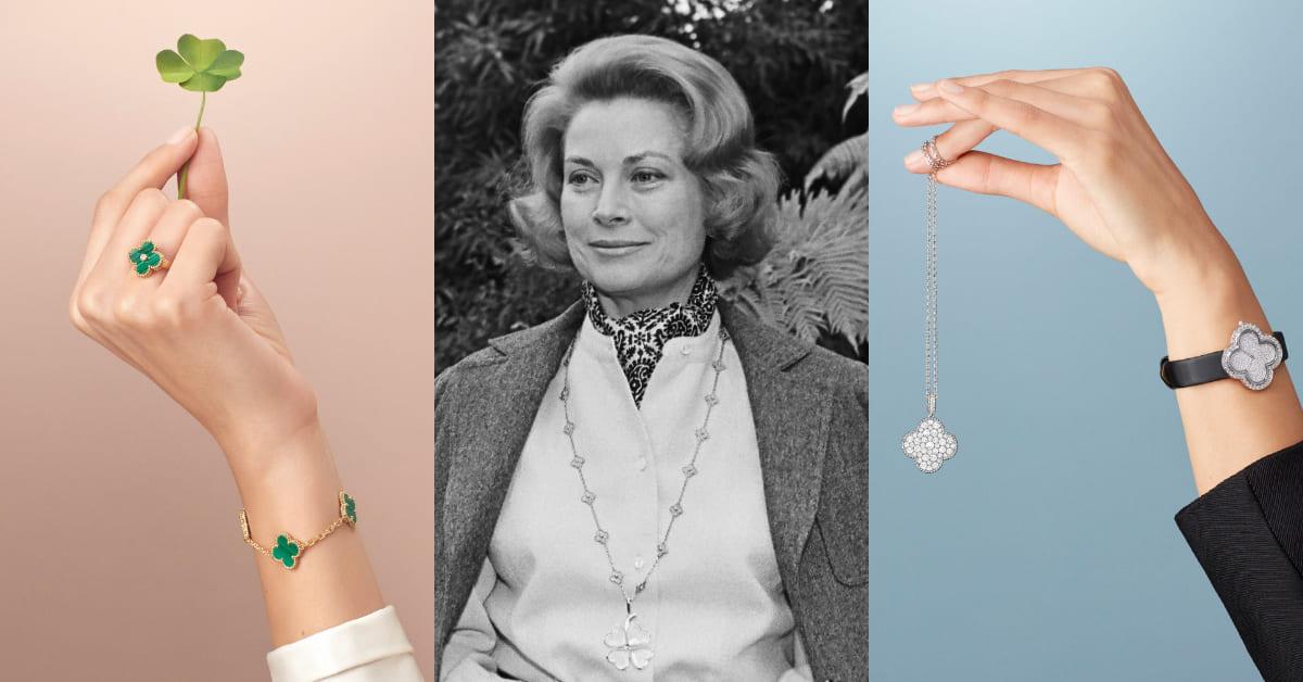 梵克雅寶經典四葉草珠寶,為何能成為女孩們深信超過50年的幸運物?