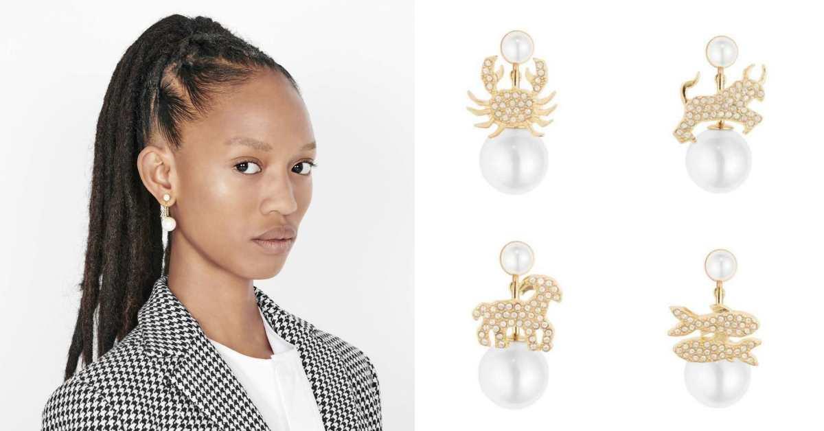 這耳環也太夢幻!Dior推出12星座珍珠系列耳環,每個女孩都能找到命定款