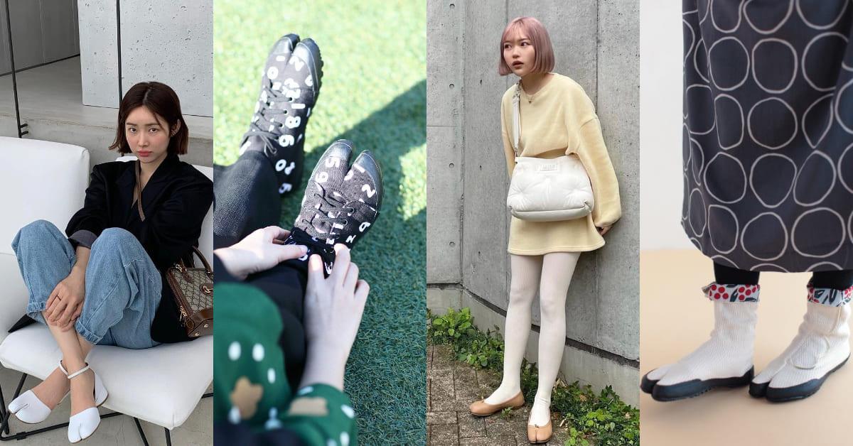 2021分趾鞋引領新潮流!日系流行風靡櫻花妹,人氣單品引發瘋搶購!