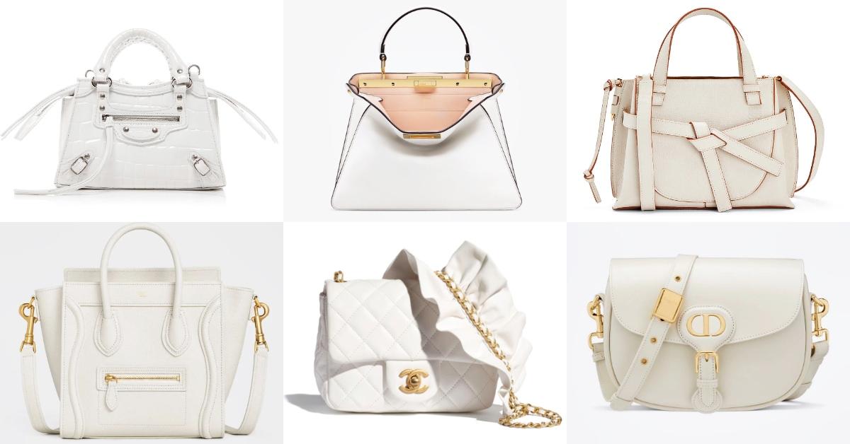 2020包包推薦10款「奶油白」,Chanel、Gucci、Dior..原來75%男生都愛這色