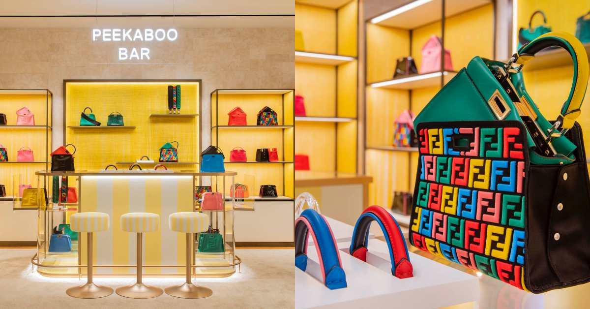 Fendi邀妳當聯名設計師!Peekaboo訂製服務登台,包身、背帶到提把全都可以自己挑!