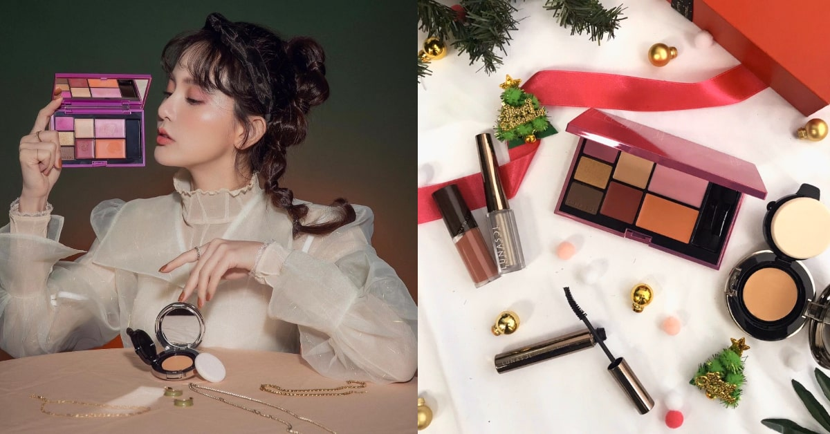 聖誕約會妝容必勝3Tips!Lunasol冬季限定5用彩妝盤,打造獵男桃花妝xx不能少