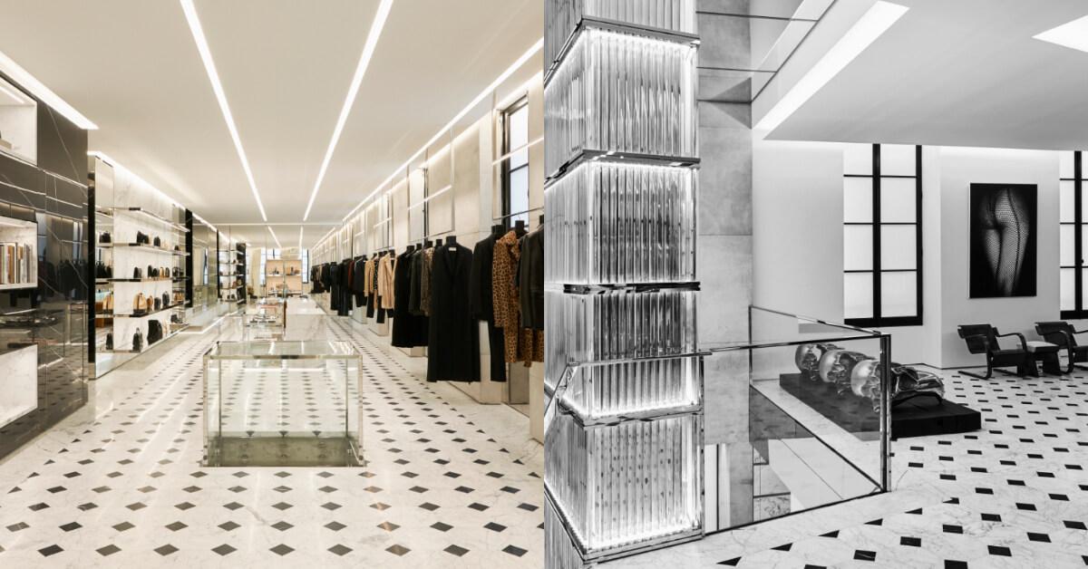 2019年必知時尚重砲,YSL聖羅蘭右岸特殊概念店,就在巴黎4大時尚區-品牌大道聖歐諾黑!