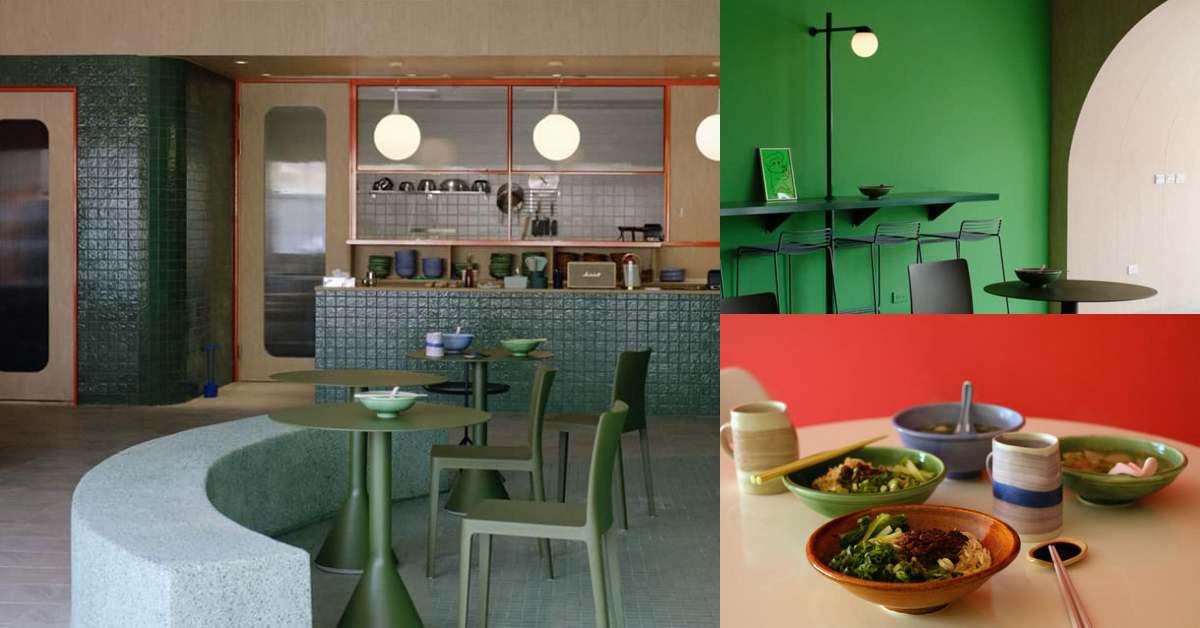 屏東最時髦小吃店!設計師打造「美菊麵店」就連椅子來頭都不小,讓文青控都甘拜下風!