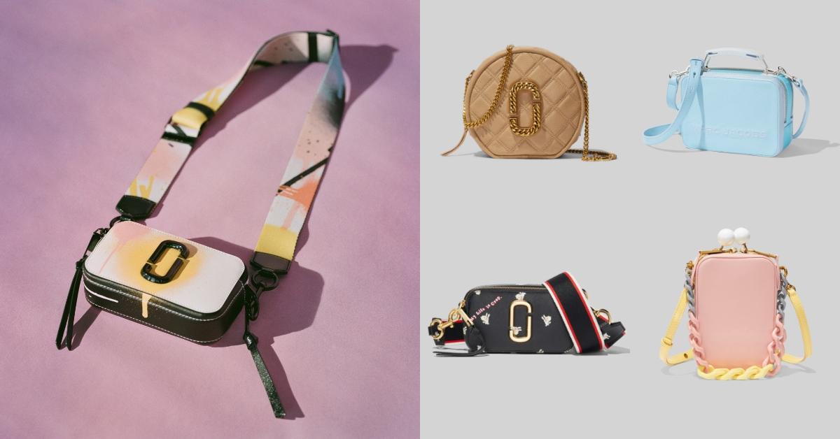 Marc Jacobs2020春夏系列包款美翻天!噴漆風相機包、超夢幻棉花糖餐盒包,全都手刀想收