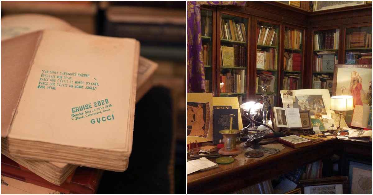 Gucci 2020早春秀即將開始!邀請函竟然藏在這間百年書店裡