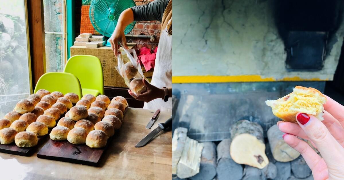 【Wina的行百里路伴酒食】奶酥麵包 - 花蓮美美.里信 窯烘焙