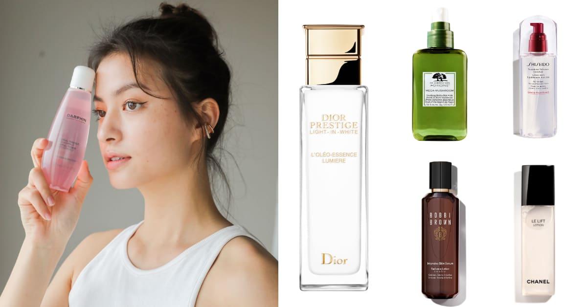 2021化妝水推薦Top15!Chanel、YSL、Dior...金盞花、靈芝水不夠看,這款保濕力太強