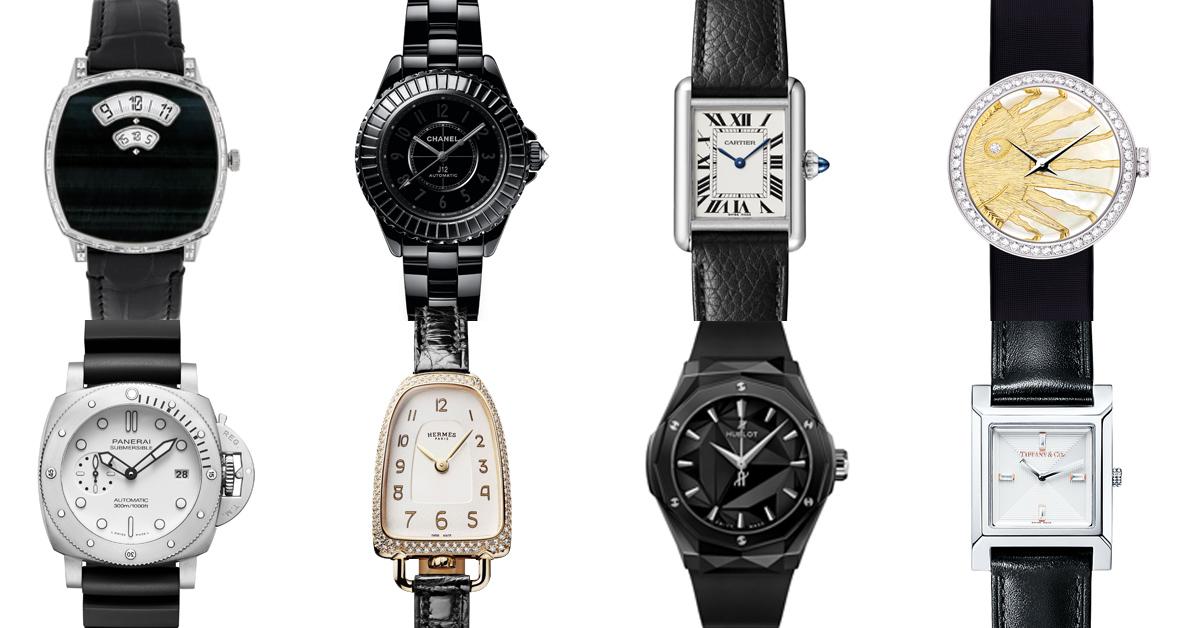 腕錶推薦「黑色系」Top13!Chanel「J12」、Cartier「坦克」、Tiffany「1837」、積家「翻轉錶」…玩酷女孩們值得擁有